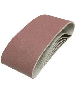 Silverline Sanding Belts 120 Grit 610x100mm 5pk