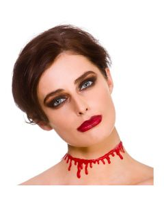 Wicked Costumes Dripping Blood Choker