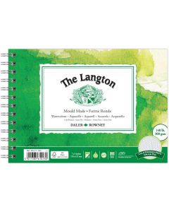 """Daler Rowney The Langton Watercolour Cold Pressed Spiral Pad 7x5"""" 300gsm"""