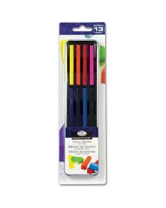 Royal & Langnickel Essentials Long Colour Sticks Mini Tin Art Set