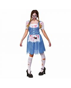 Wicked Costumes Female Zombie Country Girl