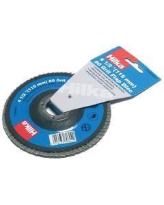"Hilka Flap Disc 4½"" 80 Grit"