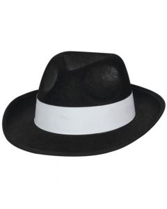 Wicked Costumes Gangster Hat With White Band