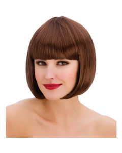 Wicked Costumes Brown Diva Bob Wig