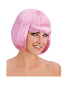Wicked Costumes Baby Pink Diva Bob Wig