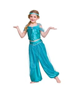 Wicked Costumes Girls Arabian Princess With Gold