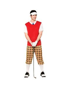 Wicked Costumes Male Funny Pub Golfer
