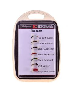 Shakespeare Sigma Fly Selection 7 Buzzers