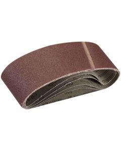 Silverline Sanding Belts 60 Grit 533x75mm 5pk