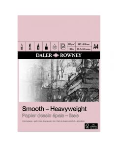 Daler Rowney Smooth Heavyweight Pad A4 220gsm