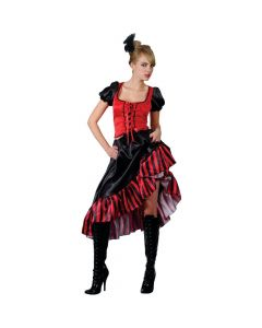 Wicked Costumes Female Can Can Saloon Girl