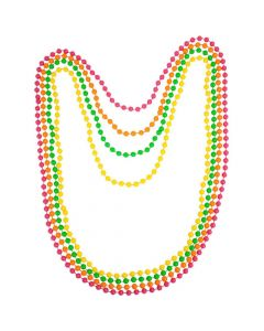 Wicked Costumes 80's Neon Beads 4pce