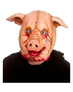 Wicked Costumes Horror Pig Latex Mask