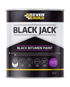 Everbuild 901 Bitumen Paint 1L