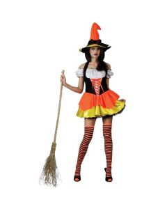 Wicked Costumes Female Candy Corn Witch