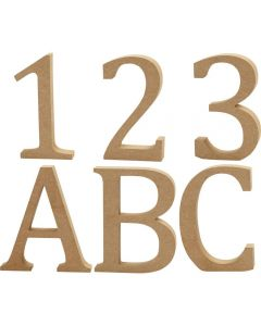 Creative Company Wooden Letters/Numbers