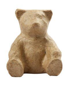 Creative Company Paper Mache Small Animals Bear