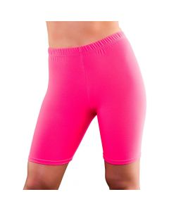Wicked Costumes 80's Neon Pink Cycling Shorts