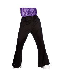 Wicked Costumes Black 70's Flares