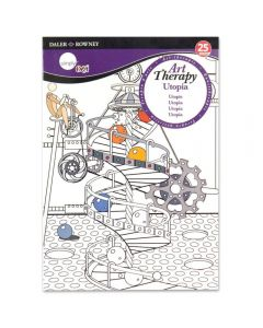Daler Rowney Simply Art Therapy  Book A5 Utopia