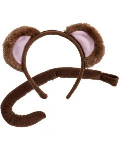 Wicked Costumes Monkey Ears & Tail Set