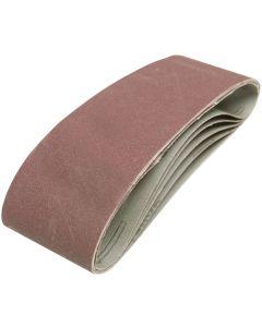 Silverline Sanding Belts 40 Grit 533x75mm 5pk