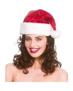 Wicked Costumes Deluxe Sequined Santa Hat