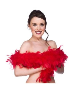 Wicked Costumes Red Feather Boa