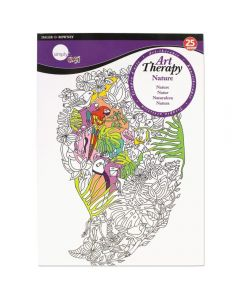 Daler Rowney Simply Art Therapy Book A4 Nature