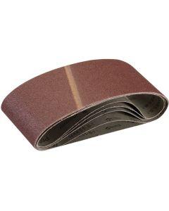 Silverline Sanding Belts 60 Grit 610x100mm 5pk