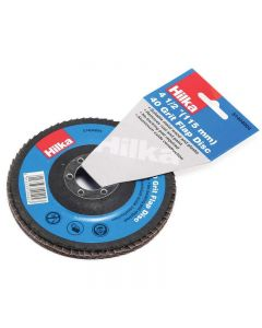 "Hilka Flap Disc 4½"" 40 Grit"