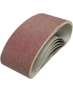 Silverline Sanding Belts 60 Grit 457x75mm 5pk