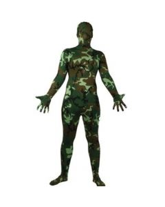 Wicked Costumes Male Camoflauge Skinz