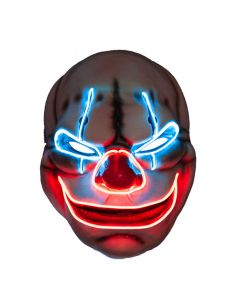 Wicked Costumes EL Big Mouth Creepy Clown Mask