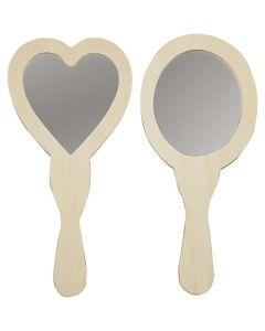 Creative Company Hand Mirrors 2pc