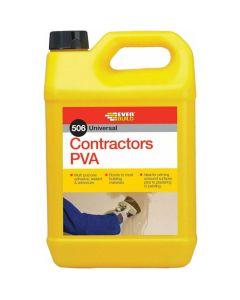 Everbuild 506 Contractors PVA 5L