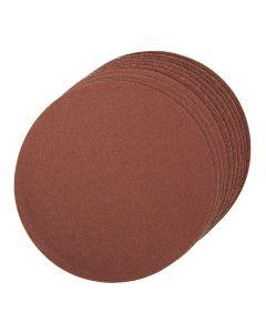 Silverline Self-Adhesive Sanding Discs 80 Grit 150mm 10pk