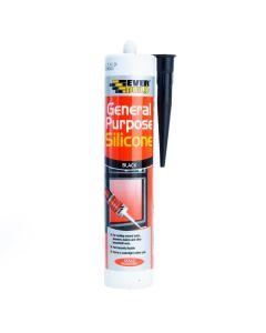 Everbuild General Purpose Silicone Black C3 280ml