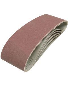 Silverline Sanding Belts 120 Grit 533x75mm 5pk