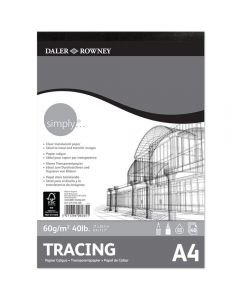 Daler Rowney Simply Tracing Pad A4 60gsm