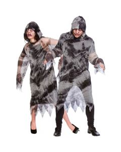 Wicked Costumes Hooded Ghost Robe
