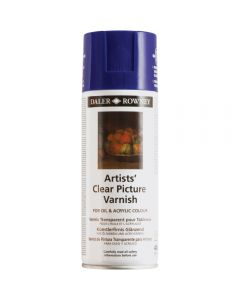 Daler Rowney Artists Clear Picture Varnish Aerosole 400ml