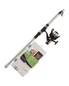 Shakespeare Catch More Fish 2 Telescopic Spin Combo 8' 20-60g