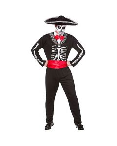 Wicked Costumes Male Mariachi Day Of The Dead With Hat