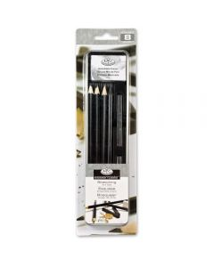 Royal & Langnickel Essentials Sketch Pencil & Graphite Mini Tin Art Set