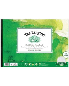 Daler Rowney The Langton Watercolour Cold Pressed Pad A3 300gsm