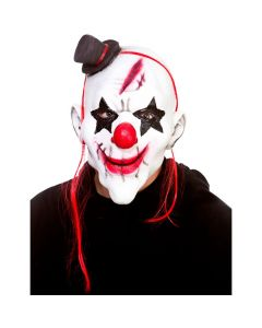 Wicked Costumes Evil Clown Latex Mask