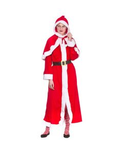 Wicked Costumes Female Super Deluxe Mrs Santa Clause One Size