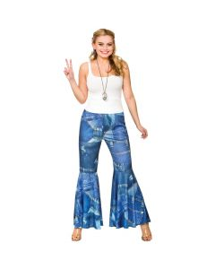 Wicked Costumes Funky Hippie Jeans