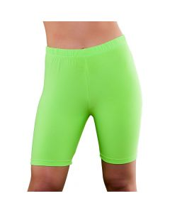 Wicked Costumes 80's Neon Green Cycling Shorts
